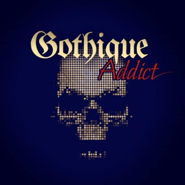 Création de logo e-commerce Gotique Addict ©Sacha Charles Martin