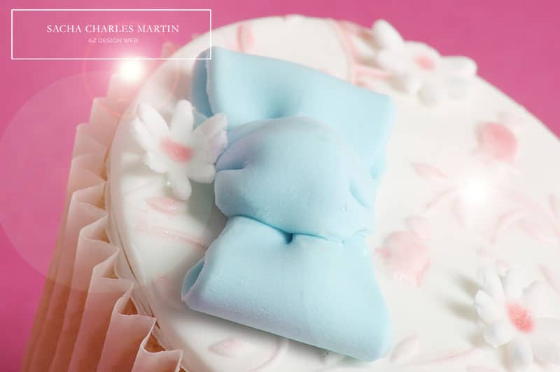 Cupcake design ©Sacha Charles Martin