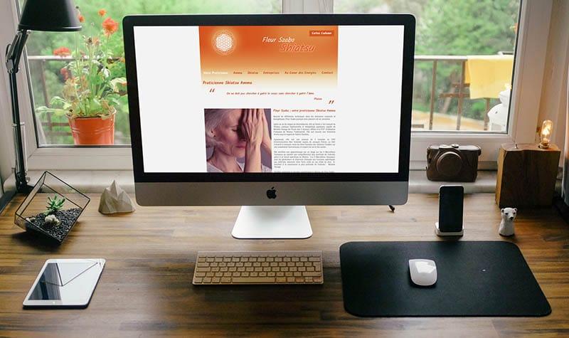 site web mockup ©Sacha Charles Martin