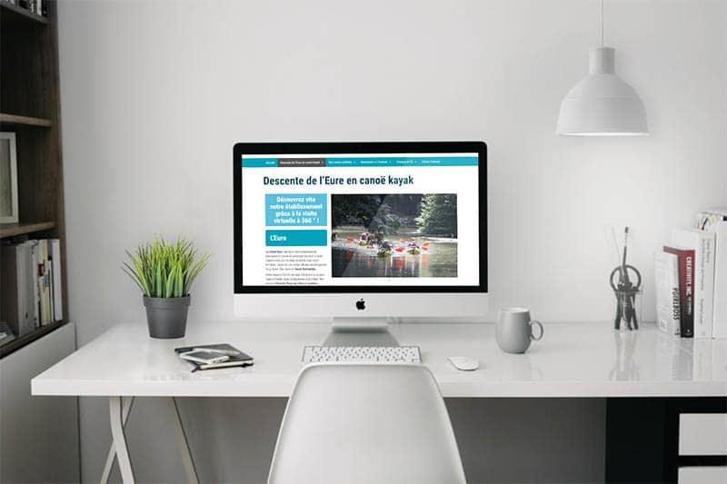 site web mockup