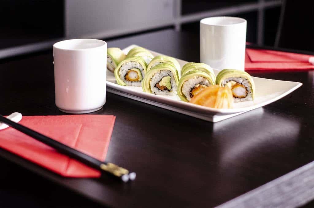 sushis à l'avocat ©Sacha Charles Martin