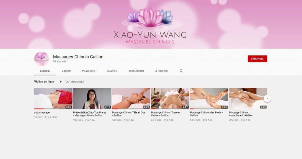 Clips tutoriels de massage ©Sacha Charles Martin